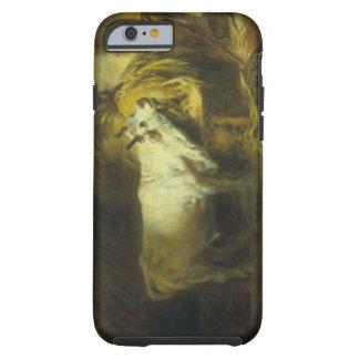 La Bull blanca en el estable (aceite en lona) Funda Para iPhone 6 Tough