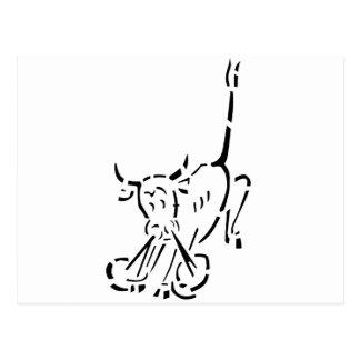 La Bull de resoplido - U-47 Tarjetas Postales