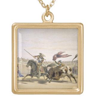 La Bull Que sigue-para arriba la carga, 1865 (colo Colgante Cuadrado