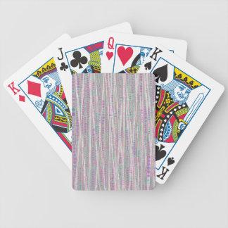 La burbuja raya suavidad baraja cartas de poker