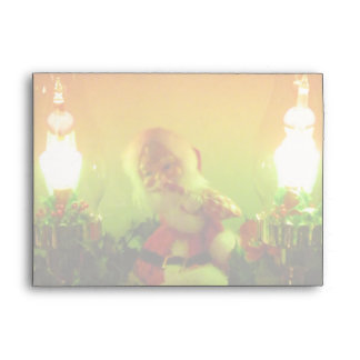 La burbuja retra de Santa enciende la tarjeta a ju Sobres