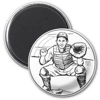 La burbuja soña el imán del jugador de béisbol