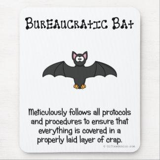 La burocracia apenas cubre todo en mierda alfombrillas de raton