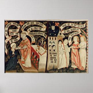 La búsqueda después de la verdad alemán c 1490 poster