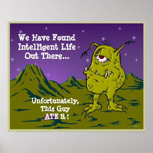 La búsqueda para la vida inteligente póster