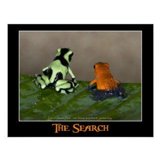 La búsqueda (w/caption) posters