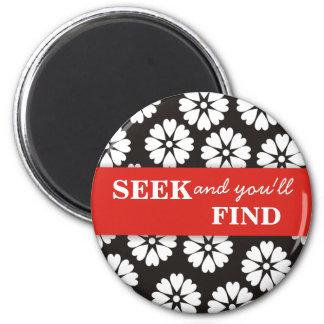 La búsqueda y usted imán Hallazgo-De motivación