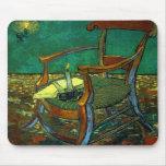 La butaca de Paul Gauguin, Vincent van Gogh Alfombrillas De Ratón