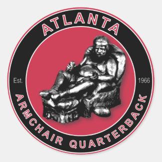La BUTACA QB - Atlanta Pegatinas