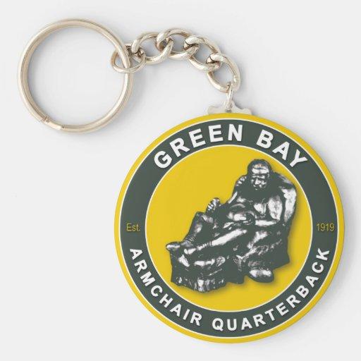 La BUTACA QB - Green Bay Llavero Personalizado