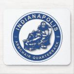 La BUTACA QB - Indianapolis Tapete De Ratón