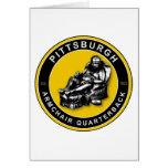 La BUTACA QB - Pittsburgh Felicitación