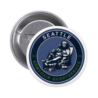 La BUTACA QB - Seattle Pin Redondo De 2 Pulgadas