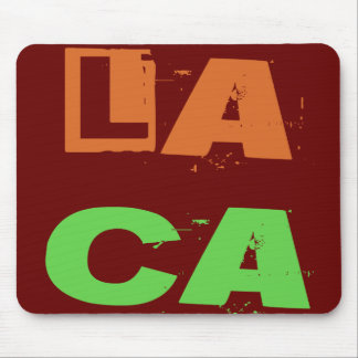LA CA (Los Angeles, California) Mouse Pad