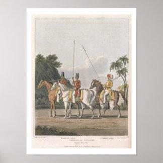 La caballería irregular, ejército de Bengala 1817, Impresiones