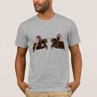 La caballerosidad Knights una camisa echada a un
