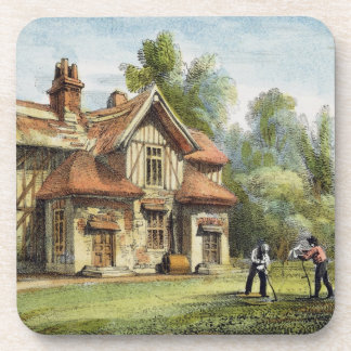 La cabaña de la reina, Richmond cultiva un huerto, Posavasos De Bebidas