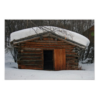 La cabaña de madera de Jack London Póster