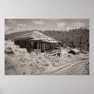La cabaña del minero - mina del fantasma del comet poster