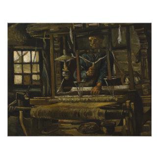 La cabaña del tejedor de Vincent van Gogh Impresiones Fotograficas