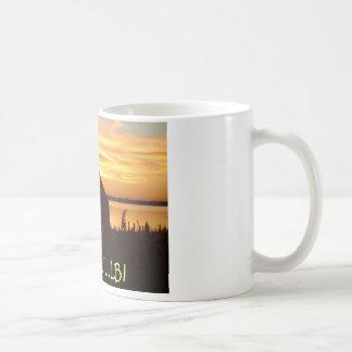 La cabaña taza de café