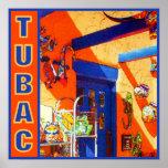 La cabeza de Bull, Tubac, poster de AZ