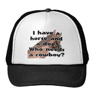 La cabeza de caballo - tengo un caballo y un perro gorro