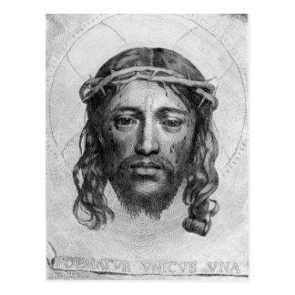 La cabeza de Cristo, 1735 Postal