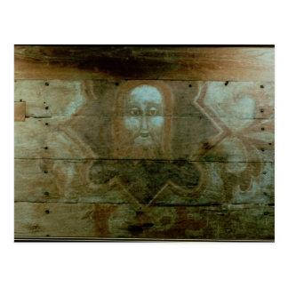 La cabeza de Cristo, c.1280 Tarjeta Postal