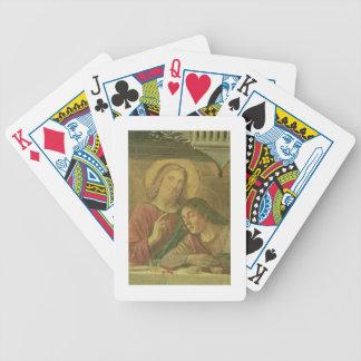 La cabeza de Cristo, de la última cena, 1480 (fres Baraja Cartas De Poker