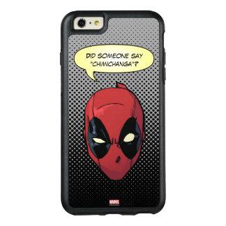 La cabeza de Deadpool Funda Otterbox Para iPhone 6/6s Plus