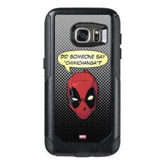 La cabeza de Deadpool Funda Otterbox Para Samsung Galaxy S7