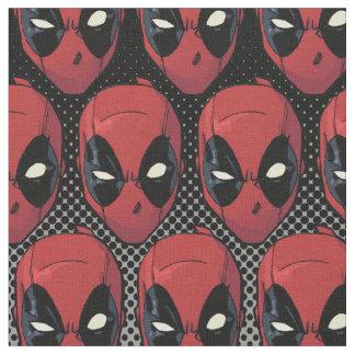 La cabeza de Deadpool Telas