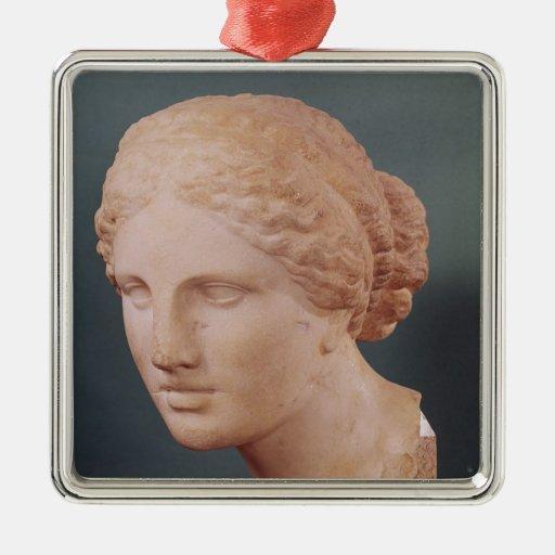 La cabeza de Kauffmann, cabeza del Aphrodite Ornamento Para Reyes Magos