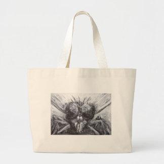 La cabeza de la mosca (realismo surrealista) bolsas