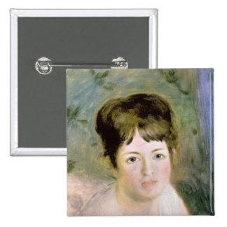 La cabeza de la mujer, c.1876 pin cuadrada 5 cm