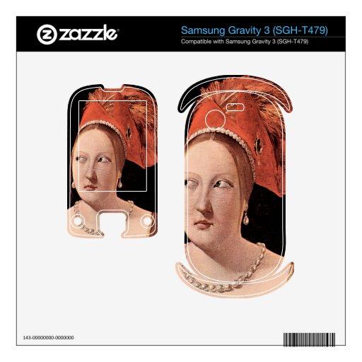 La cabeza de la mujer de Georges de La Tour Samsung Gravity 3 Calcomanías