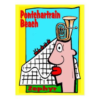 La cabeza de la tuba recuerda la playa de Pontchar Tarjetas Postales