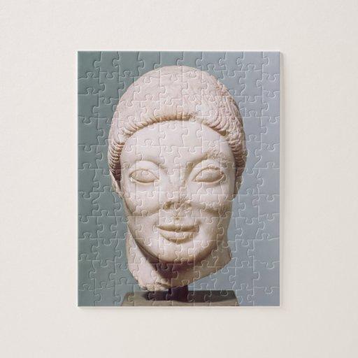 """""""La cabeza de Rayet"""", ático, de Dipylon, c.530 A.C Puzzles"""