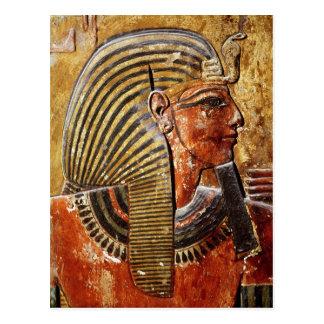 La cabeza de Seti I de la tumba de Seti Postal