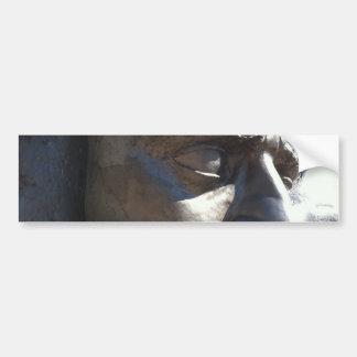 La cabeza de Sibelius Pegatina De Parachoque