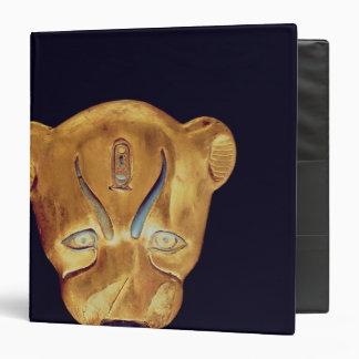 La cabeza del leopardo, de la tumba de Tutankhamun