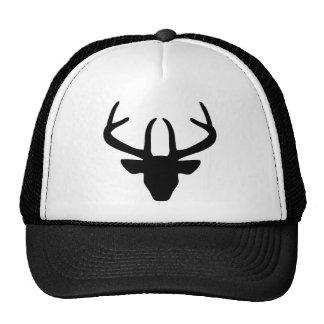 La cabeza del macho gorras de camionero