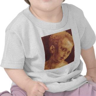 La cabeza del muchacho inclinada a la derecha camisetas