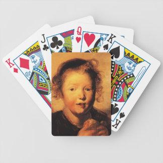 La cabeza del niño de Jacob Jordaens- Barajas