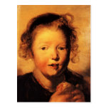 La cabeza del niño de Jacob Jordaens- Tarjeta Postal