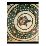 La cabeza del oso, mosaico romano, siglo IV Tarjetas Postales