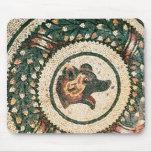 La cabeza del oso, mosaico romano, siglo IV tempra Alfombrilla De Raton