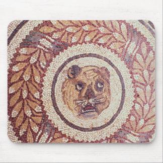 La cabeza del tigre, mosaico romano, siglo IV temp Alfombrillas De Raton