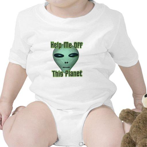La cabeza extranjera del UFO me consigue de este Traje De Bebé